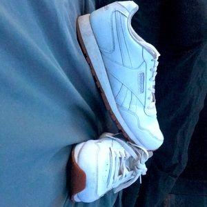 White Reebok's